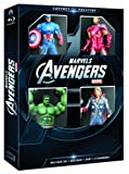 echange, troc Coffret Avengers Blu-ray 3D + Blu-ray + DVD + 4 figurines - Exclusivité Amazon.fr [Blu-ray]