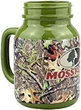 Top Shelf Mossy Oak Mason Jar Green