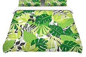 Buy Kess Inhouse Jacqueline Milton Quot Tropicana Green Quot Lime