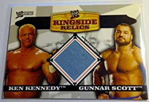 Ken Kennedy and Gunnar Scott (Trading Card) 2006 Topps Heritage II WWE Ringside Relics Doubles Card