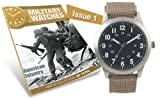 Military Watches Magazine Collection Issue #1 British Soldier 1950's Watch & Mag