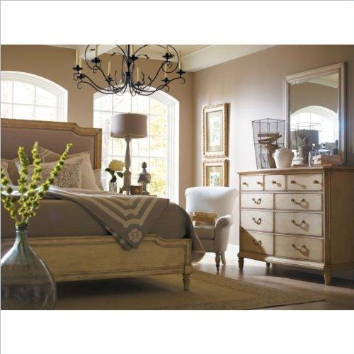 Stanley Furniture Portfolio European Cottage Dressing Chest And Mirror In White front-953037