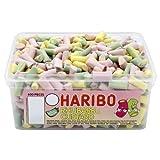 Haribo Rhubarb & Custard Candy Pieces - 600 Pack