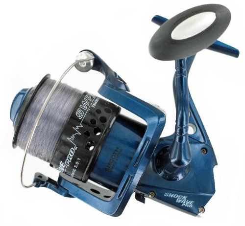 Tsunami shock wave pro 550 saltwater fishing reel 15 lb for Tsunami fishing reels