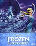 Frozen El Reino Del Hielo Blu-ray Steelbook (2013) Zavvi Exclusive Limited to 4,000 copies, Region Free Spain Import (2013)