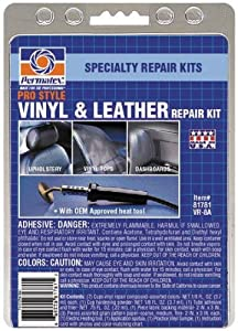Permatex 81781-6PK Ultra Series Vinyl and Leather Repair Kit by Permatex