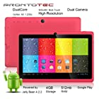 ProntoTec 7 Android 4.2 Tablet PC, Cortex A8 1.2 Ghz Dual Core Processor,512MB / 4GB,Dual Camera,HDMI,G-Sensor (Pink)
