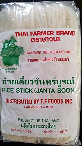 Thai Rice Noodles Great for Pad Thai, Stir Fry and Noodles Soup (Pad Thai Rice Stick Noodles compare prices)