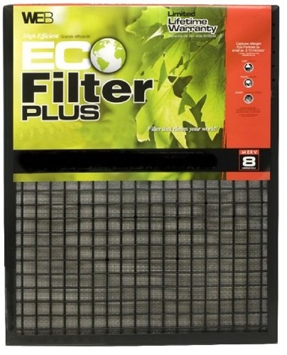 WEB WPLUS Eco Filter Plus Adjustable Air Filter, 1-Pack