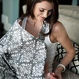 iCasso 授乳ケープ 授乳カバー 360度安心の授乳ケープ  多機能で 現役ママ大絶賛 出産準備、ご出産祝で大人気 外出先での授乳に便利な授乳ケープ ワイヤー入り授乳便利グッズ 出産祝い/ギフト (Grace) ランキングお取り寄せ