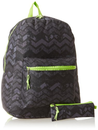 Trailmaker Big Boys' Backpack with Coin Pouch, Chevron, One Size