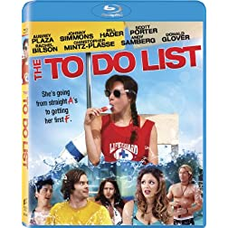 The To Do List (+UltraViolet Digital Copy) [Blu-ray]