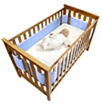 Safe Dreams 4 Sided Cot Wrap with 100...
