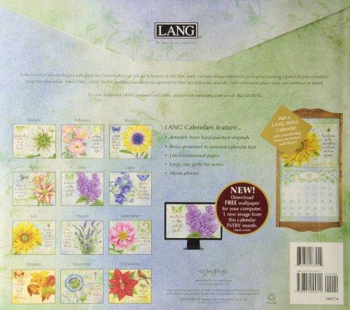 The Lang Botanical Inspiration 2014 Calendar