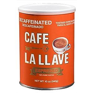 Café La Llave Decaf Coffee, 10 Ounce