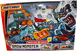 Mega Rig Arctic Adventure Snow Monster Mission Playeset