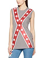 Love Moschino Top (Gris Jaspeado)