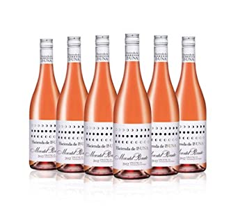 Hacienda de Lluna Rose Wine Moscatel 75cl (Mixed case of 6)