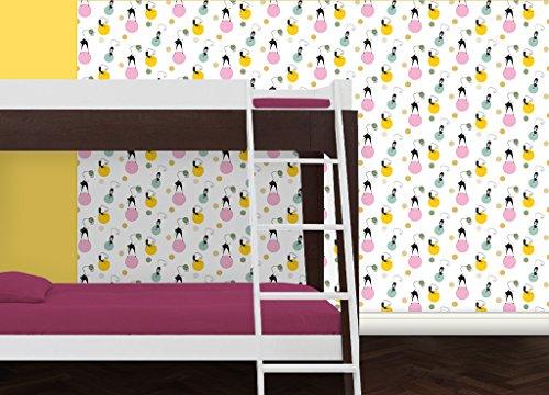 Gmm jugendzimmer tapete katzen polka individuell gefertigt - Jugendzimmer tapezieren ...
