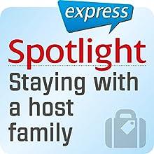 Spotlight express - Reisen: Wortschatz-Training Englisch - Aufenthalt in einer Gastfamilie (       ungekürzt) von div. Gesprochen von: div.