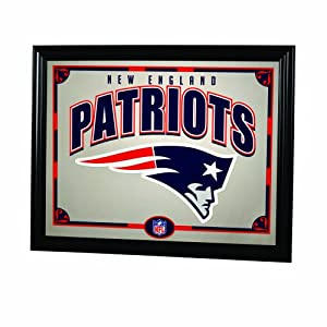 NFL New England Patriots 22 Inch Printed Mirror by The Memory Company