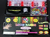 Creative Colorful Loom Band Kit ... Loom Tool, 600 Multi-color Band + Clips