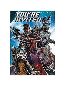 Guardians of the Galaxy Invitations w/ Envelopes (8ct)