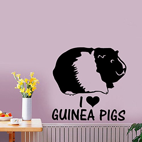 Guinea Pig Pet Removable Wall Art