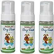 Pack Of 3 Robust Dry Foam Shampoo Aloevera Fragrance 150ml