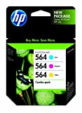 HP 564 Ink Cartridge in Retail Packagings, Combo Pack