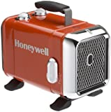 Honeywell HZ-510E Keramik-Heizlüfter in rot/Chrom,...