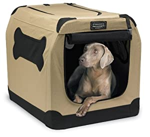 Extra Large Enclosed Travel Kennel For Dogs