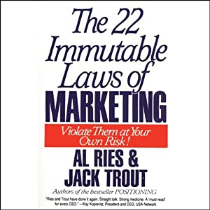 The 22 Immutable Laws of Marketing | [Al Ries, Jack Trout]