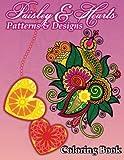 Lilt Kids Coloring Books Paisley & Hearts Patterns and Designs Coloring Book: 18 (Sacred Mandala Designs and Patterns Coloring Books for Adults)