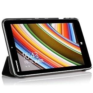 IVSO オリジナル Lenovo IdeaTab Miix 2 8インチ Windows 8.1 専用スマートケース 超薄型 最軽量 スタンド機能付 (ブラック)