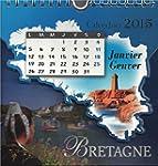 Calendrier Bretagne 2015 (Petit Mod�le)