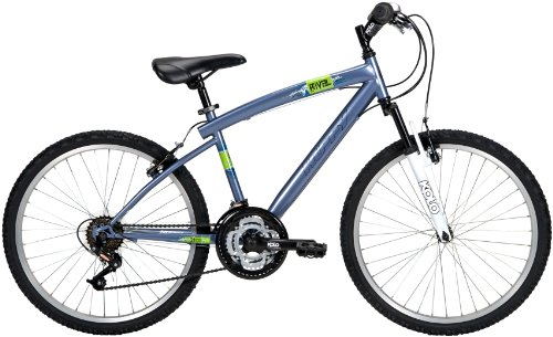 Huffy 24-Inch Boy's ATB Rival Bike (Blue)