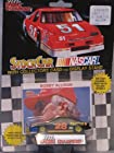 1992 Racing Champions Diecast Car #28 Davey Allison with Collectors Card and Display Stand