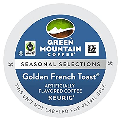 Green Mountain Limited Edition Golden French Toast K Cups 24 Count by Green Mountain Coffee