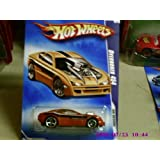 2009 Hot Wheels HW Designs Burnt Orange Overbored 454 W/ OH5SPs #106 (10 Of 10) 1:64 Scale