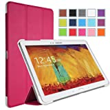 MoKo Samsung Galaxy Note 10 2014 Edition Case - Ultra Slim Lightweight Smart-shell Stand Case For Note 10.1 Inch...