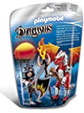 Playmobil 5463 Dragons Fire Dragon with Warrior