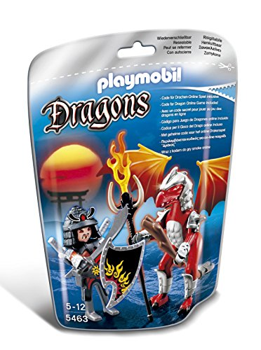 PLAYMOBIL Fire Dragon with Warrior - 1