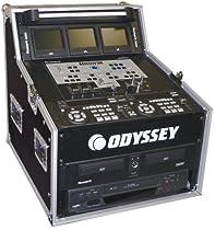 Odyssey FZ494 Flight Zone Ata Triple Combo Rack: 4u X 9u X 4u