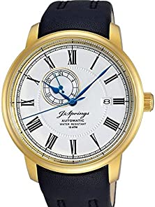 buy J. Springs Classic Automatic Beg003 - Men'S Watch, Strap Leather Color Black