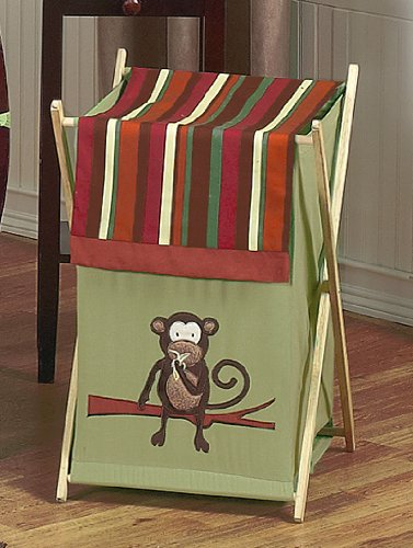 Hampers organizers storage baby kids clothes laundry hamper for monkey bedding - Monkey laundry hamper ...