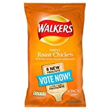 Walkers Roast Chicken Crisps 6 x 25g
