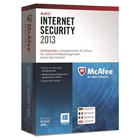 McAfee Internet Security 2013 - 3 User