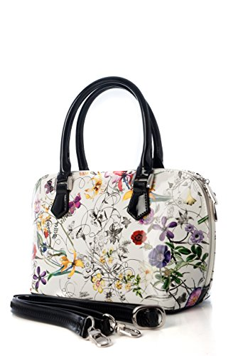 Lena-Flower-Print-Leather-Handbag-Large