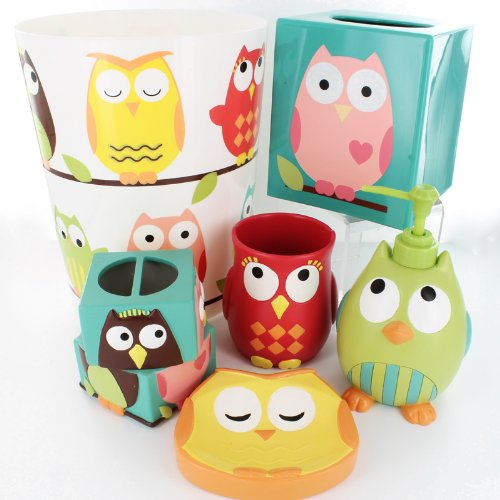Owl Bath Accessories